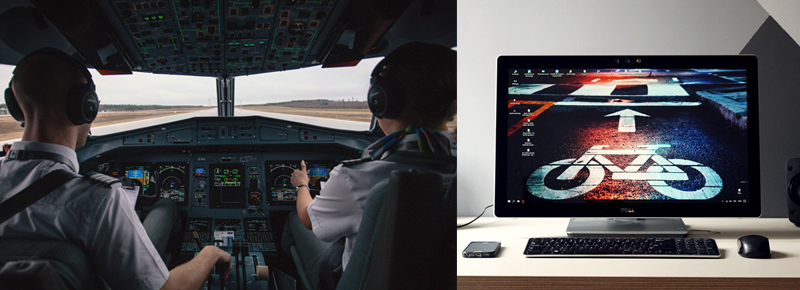 The Best Monitors for Flight Simulators – NerdsPick